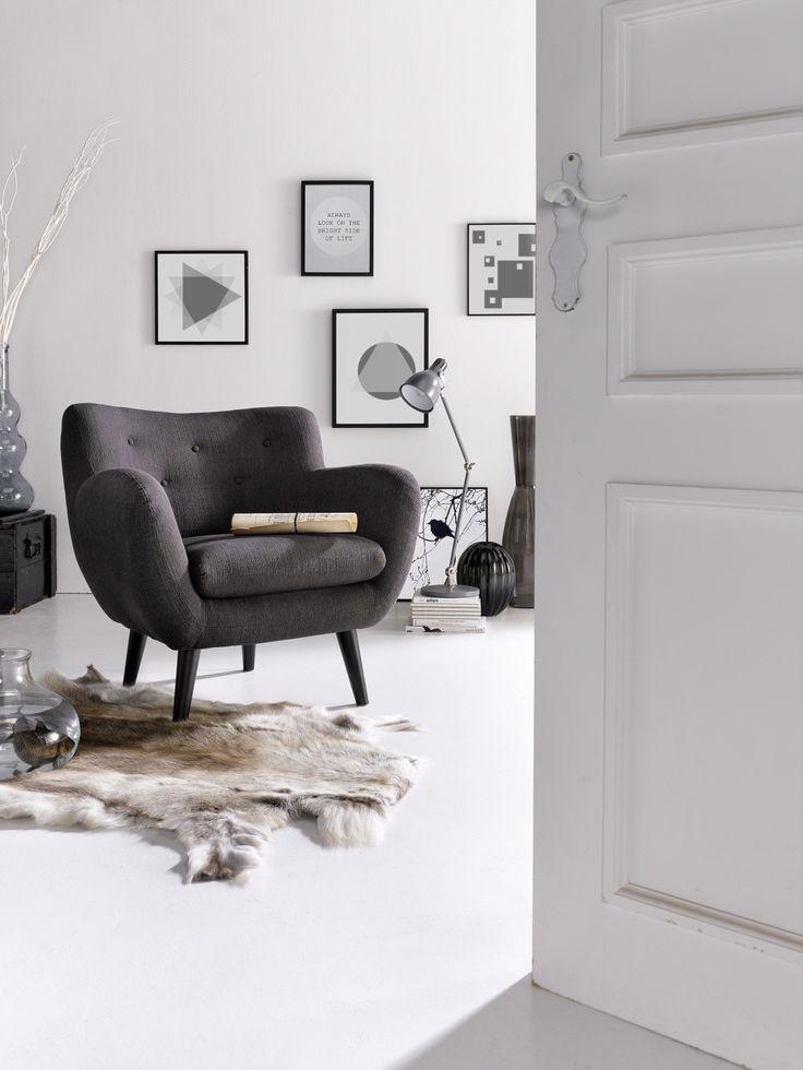 INOSIGN Sessel Im Retro Style