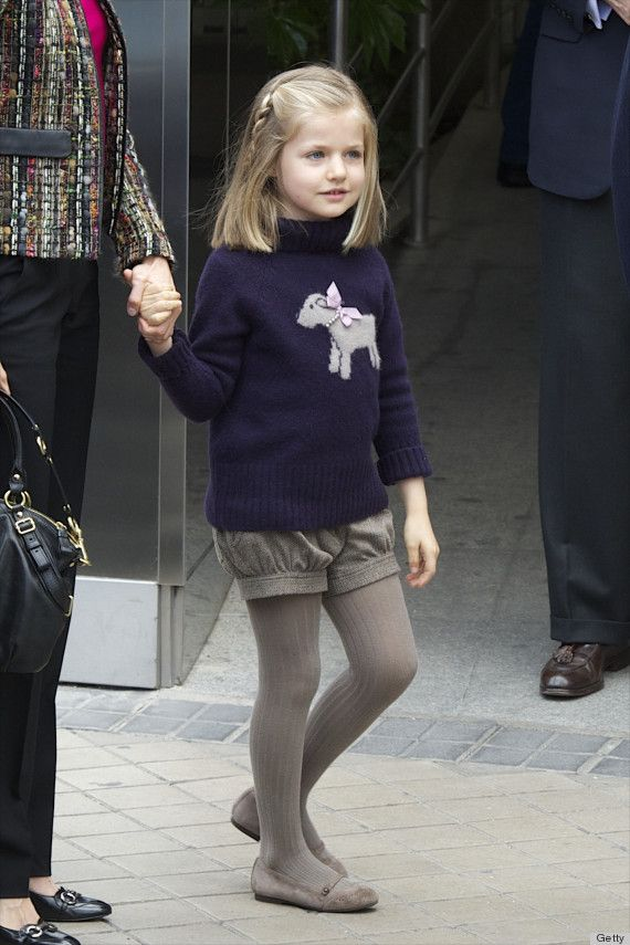 leonor heiress to the throne of spain | Princess Leonor, Spain's 8-Year-Old Future Queen, Already Has Amazing ...