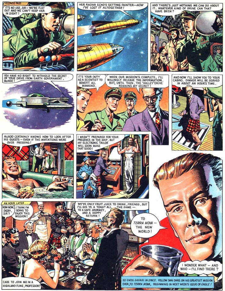 Dan Dare Art : Frank Hampson