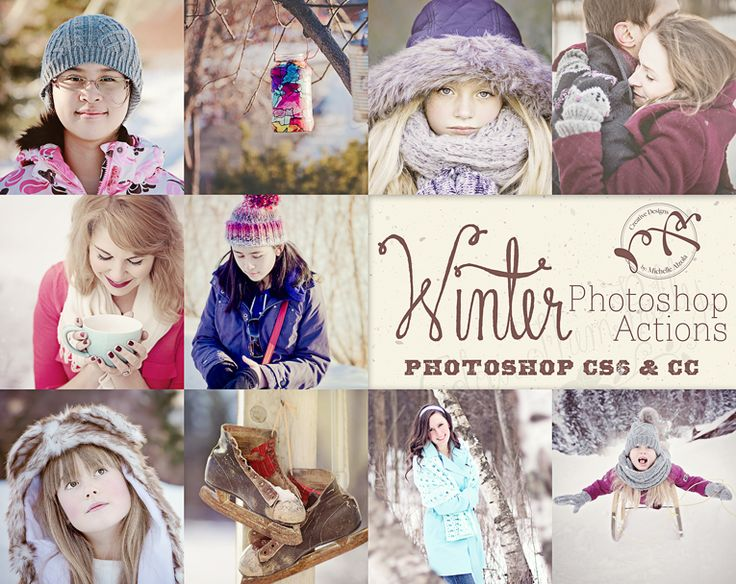 Winter Actions {Photoshop CS6 and CC}