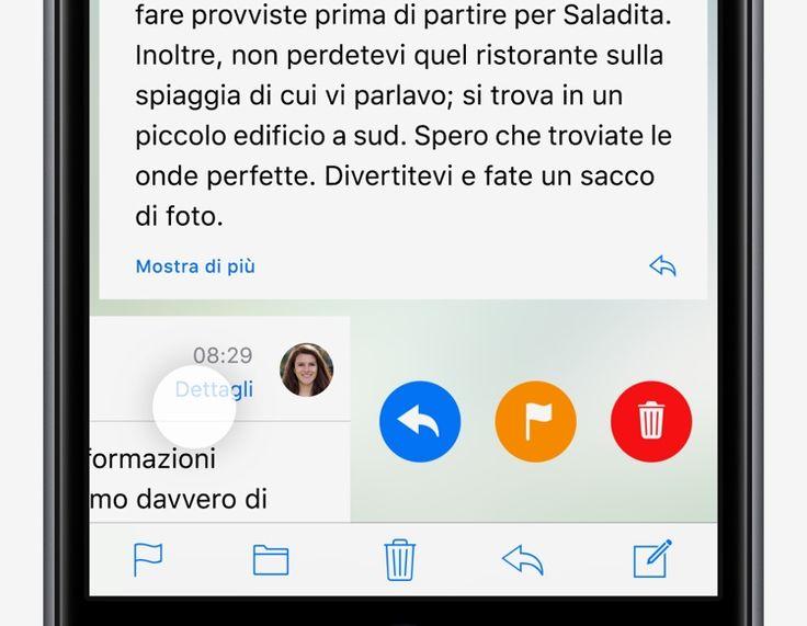 Gestisci rapidamente le tue e‑mail - Suggerimenti e trucchi di iOS 10 per iPhone - Supporto Apple