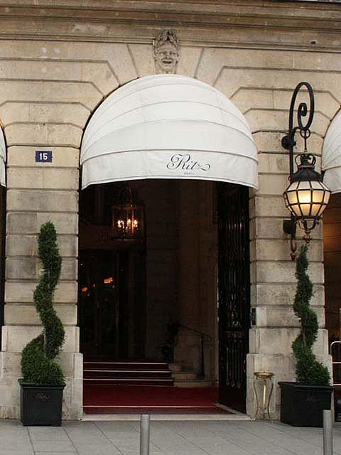 Ritz, 15 Place Vendôme, Paris I
