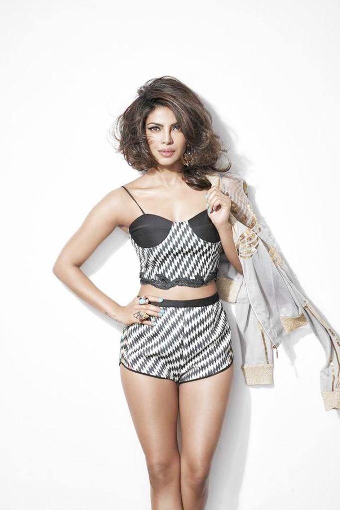 Priyanka Chopra Photo-Shoot for Cosmopolitan Magazine