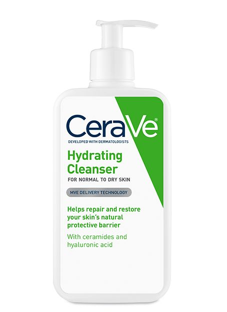 Removes dirt, oil and makeup as ceramides and hyaluronic acid help repair, moisturize, and soften