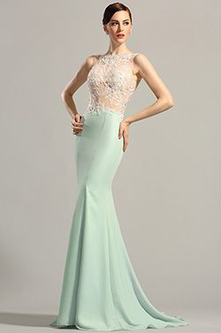 eDressit Sleeveless Lace Applique Evening Gown Formal Dress (00154904) - USD 219.99