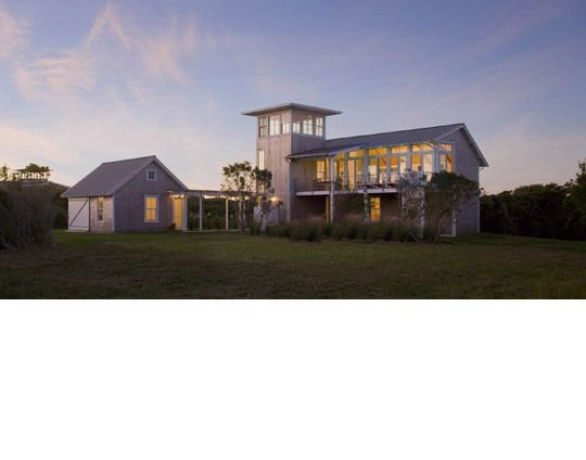 Estes Twombly Architects Barker House Love The Tower And