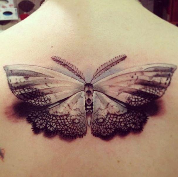 Empire Tattoos Gold Coast Australia artist Damo Gerding specialises in portraits, realism and cover ups. Tattoo moth