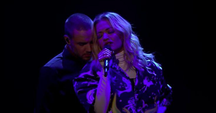 See Liam Payne, Rita Ora's Grand Performance of 'For You' on 'Fallon' #headphones #music #headphones