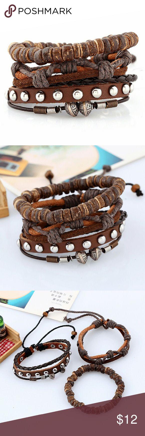 best bracelets images on pinterest jewerly leather bracelets