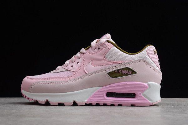 girls pink nike air max 90 se