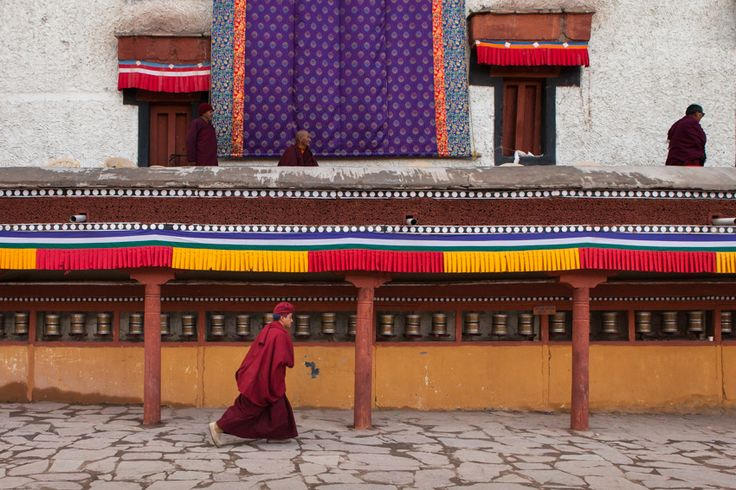 https://flic.kr/p/fzaiQX | Run, Hemis | Ladakhi Drukpa monk running in Hemis gompa during the annual Tsechu festival, celebrating the birth of Padmasambhava.  Ladakh, Jammu and Kashmir, India.   Archive  |  Website | Google+  |  Blog | Tumblr | Twitter | Pinterest | Getty Images  Follow me on Facebook