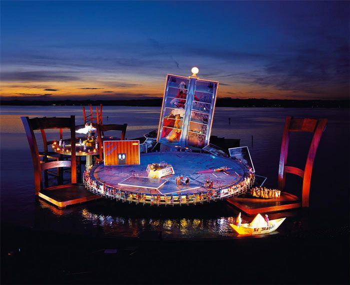 Bregenz Festival, Lake Konstanz, Austria. Great Cultural  and Art Place. Read more at jebiga.com