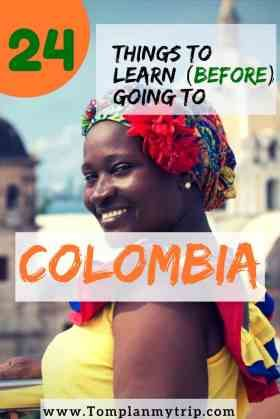 Interesting Facts About Colombia - Learn about the culture of Colombia, its history during the colonization, the societal fact. Do you know the artist Fernando Botero and the writer Gabriel Marquez? There are many interesting facts about Colombia that a few people know like Colombia is a Megadiverse country. Find out all the interesting facts about Colombia in this article #Colombia #interestingfacts #information #tips