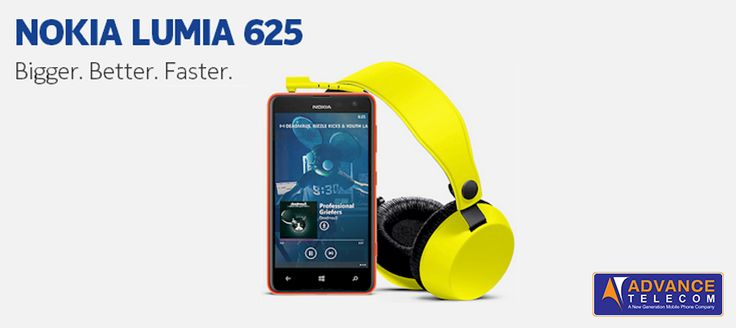 Music + Nokia Lumia 625 is the way to treat yourself the smart way!
