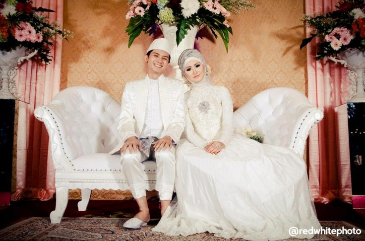 My #wedding #muslim #bridal #dress