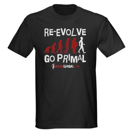 RE-EVOLVE - BLACK Dark T-Shirt