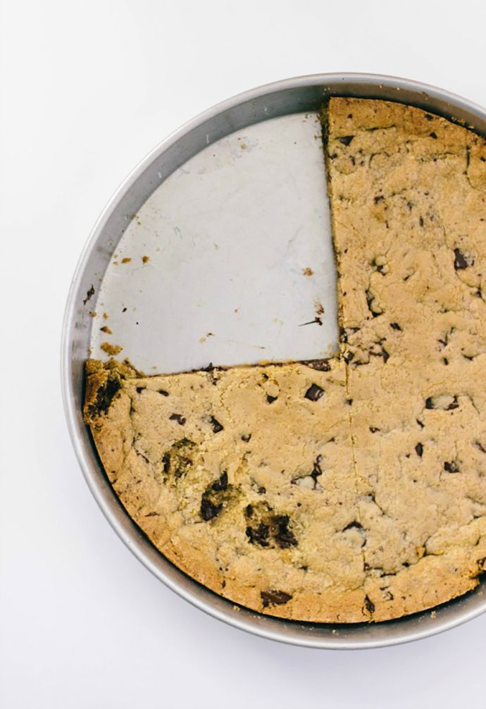 The Biggest Chocolate Chip Cookie Ever