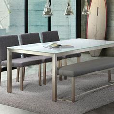 Dining Table And Chairs By Trica Furniture Carried At Holman House Furniture  In Grand Junction,