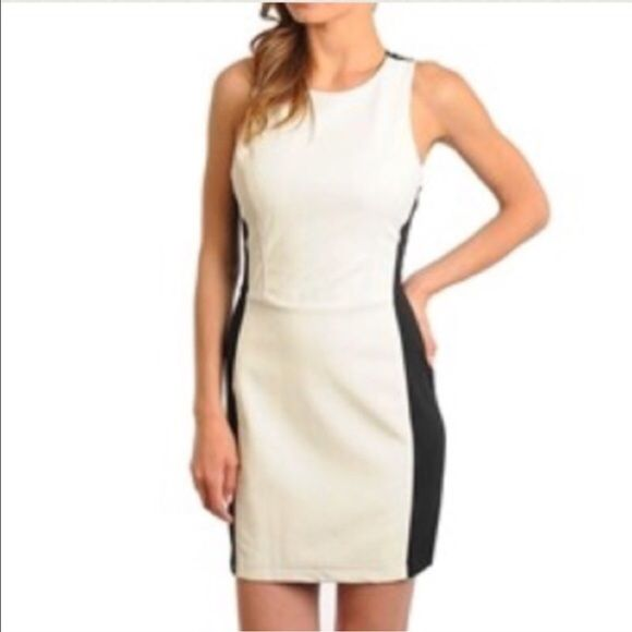 HP🎉Faux Leather Dress I DO NOT ACCEPT OFFERS ON NEW MERCHANDISE. ALL PRICES ARE FIRM, UNLESS BUNDLED!   I ship every afternoon, Mon-Fri and sometimes on Saturdays. Dresses Mini