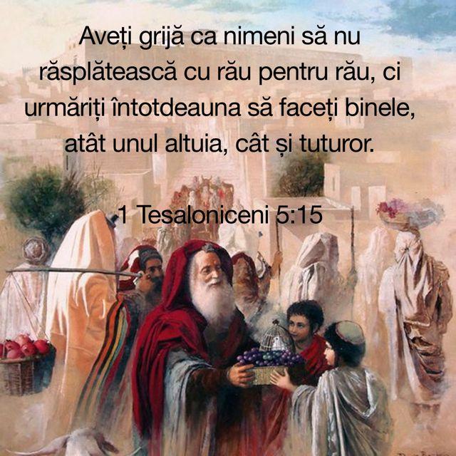 1 Tesaloniceni 5:15