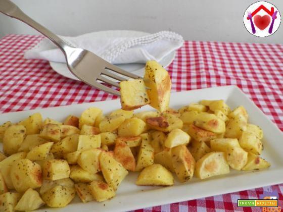 Patate arrosto con il microonde  #ricette #food #recipes