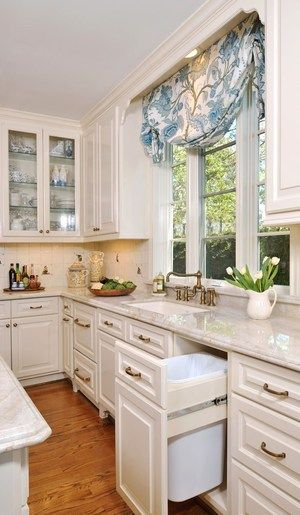 A White Kitchen w/a Soft Look and a Whole Lot of Pretty