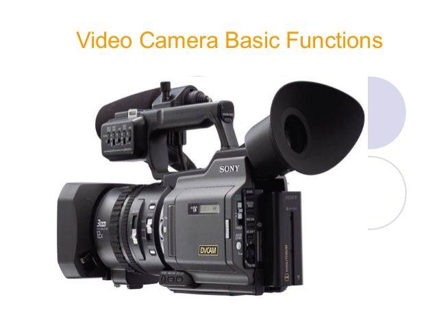Video camera basic functions... shot types ..aspect ratio