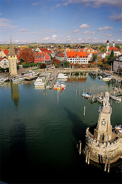 Lindau at Bodensea, greatest lake of Germany, Bavaria. Last time we lived in Germany was in the area of Bavaria. Loved it. ;-)
