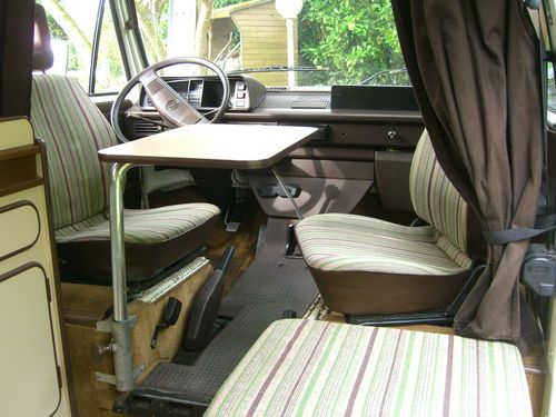 Camping car vw transporteur t3 westfalia joker 3 somme for Interieur westfalia t3