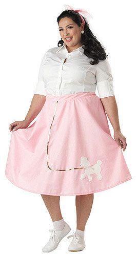 California Costumes Womens Poodle Skirt CostumePinkP