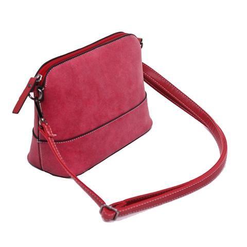 [EBay] 26X11Cm Fashion Women Bag Gray Women Shoulder Bags Female Bag Vintage Suede Small Women Leather Handbags Women Messenger Bags