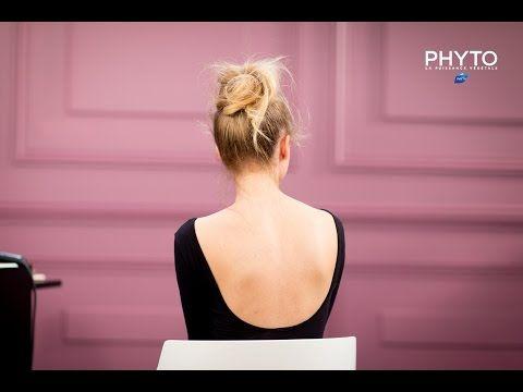 Comment réaliser un Chignon Bun - par Anthony Cristiano & Phyto - YouTube
