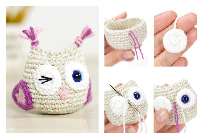 Owl is one of the animals which are commonly used in craft projects. Here are a few Crocheted Owls ideas which create beautiful and cute owls.