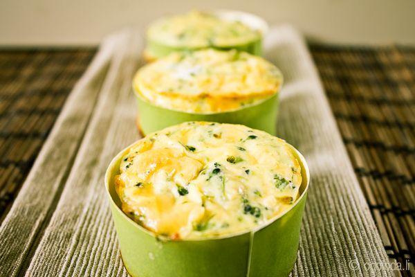 Киш из брокколи (без корочки) (закуски, вегетарианские блюда, сыр, овощи) - рецепт на Оголодали?