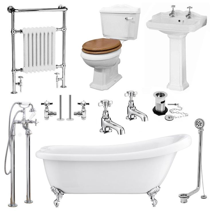 Browse the beautifully styled Kensington Traditional Complete Roll Top Bathroom Package. Now in stock and available online at Victorian Plumbing.co.uk.