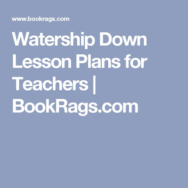 essay about watership down Professional essays on watership down authoritative academic resources for essays, homework and school projects on watership down.