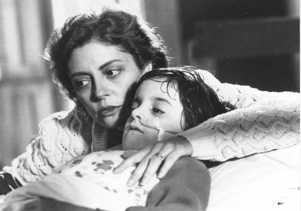 The movie makes me catatonic, but I love this mother-son picture....
