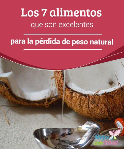 Los 7 alimentos que son excelentes para la pérdida de peso natural  La alimentación desempeña un papel muy importante en la vida de toda persona, ya que a través de esta el organismo recibe los nutrientes esenciales para reforzar el sistema inmunológico,