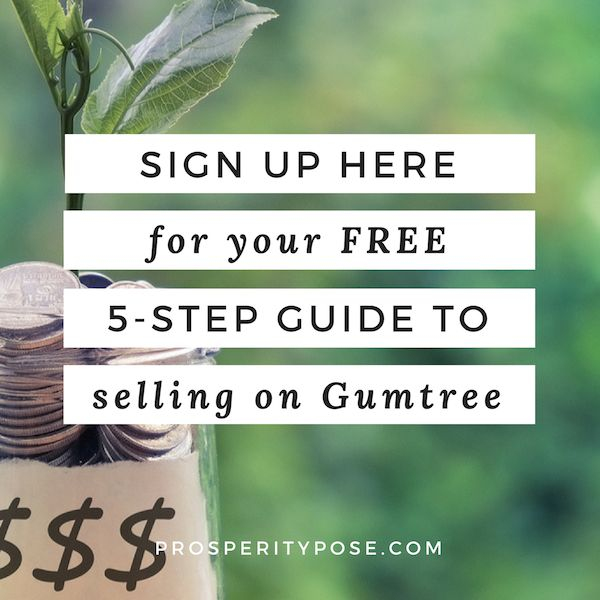 How to sell your clutter for cash on Gumtree: 5 simple steps to success   Are you looking for some extra cash but don't know how to get started selling the stuff you no longer need? Well, this guide will break it down for you in five simple steps. Click through to read the post and download the awesome guide!
