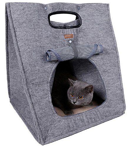 Material : Felt cloth Package Content: 1 X Pet Bag Size : 40X 40X 48cm (15.7 X 15.7 X 18.9 inch) Weight : 0.942KG Notice: 1.Please allow 1-3cm error due to manual measurement.Pls make sure you do not ...