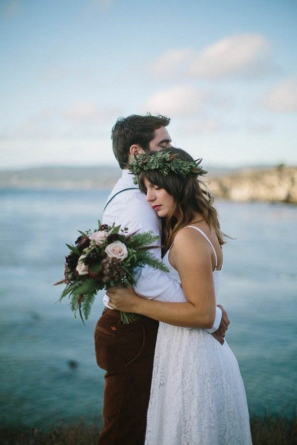 Romantic One Year Anniversary Session at Point Lobos | Hanna Photography