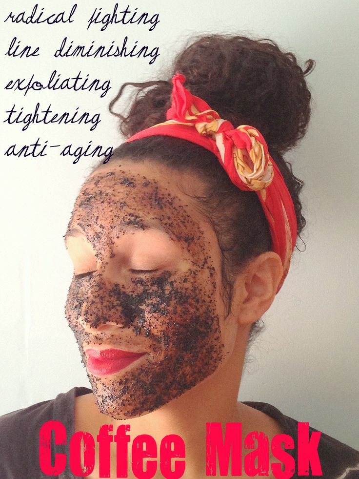 Coffee Face Mask   For eye puffiness: http://thebeautybean.com/skin-2/how-to-reduce-facial-redness-banish-dark-circles-conceal-cellulite-with-caffeine