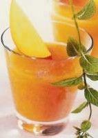 Blender recept Hawaiiaanse Crush is een heerlijke Tropische sap met meloen en papaja.