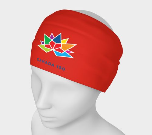 Canada 150 Red Headband