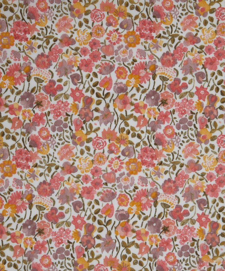 NEW SEASON! Liberty Art Fabric Kaylie Sunshine C Tana Lawn   Classic Tana Lawn by Liberty Art Fabrics   Liberty.co.uk