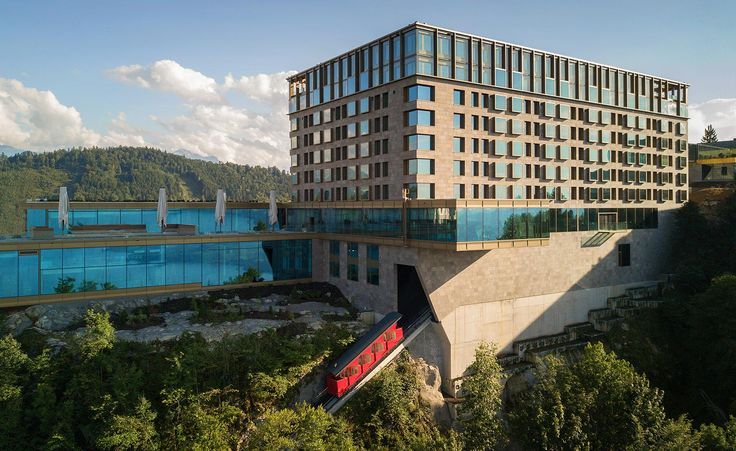 Join the club: Bürgenstock Resort Lake Lucerne opens as a super-property | four properties have been joined to form a singular super-property of 383 rooms (not counting a brand new complex of private residences), all serviced by a swanky spa, and seven restaurants and bars #luxuryhotels #travel