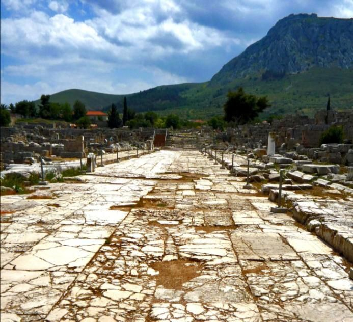 Ancient Corinth, Agora
