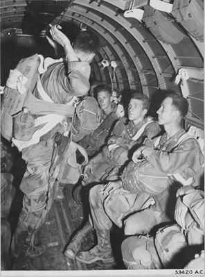 Operation Dragoon Airborne Invasion of Southern France 15 Aug 44 inside C-47