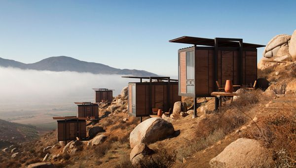 Endémico- via my style maven Sana Keefer: Valle De, Guadalupe, Mexico, California, Architecture, Endemic Shelter, Hotels