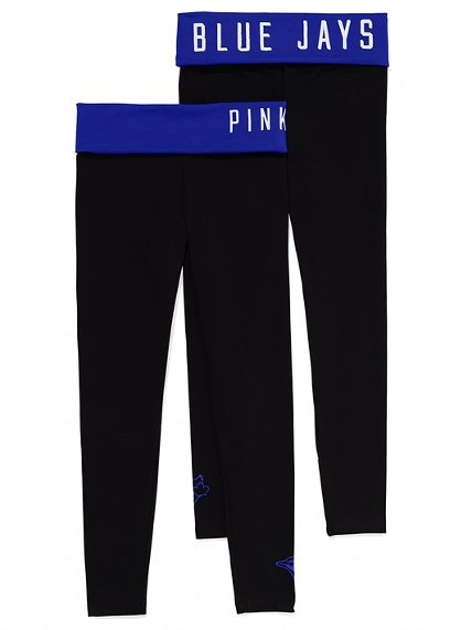 PINK Toronto Blue Jays Yoga Legging #VictoriasSecret http://www.victoriassecret.com/pink/toronto-blue-jays/toronto-blue-jays-yoga-legging-pink?ProductID=106292=OLS?cm_mmc=pinterest-_-product-_-x-_-x